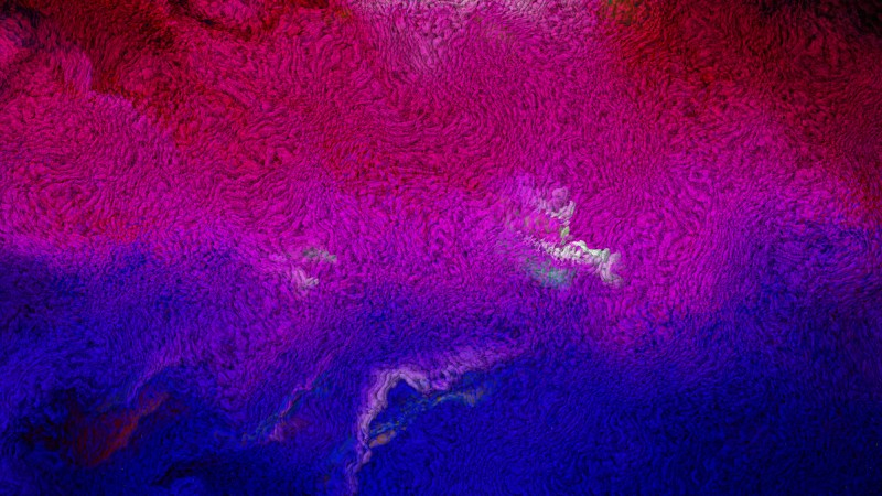 Pink and Blue Fleece Background Texture