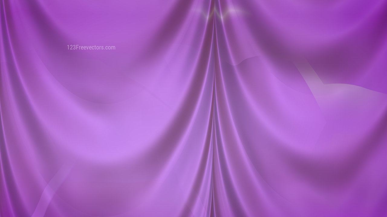 Abstract Purple Silk Drapery Textile Background
