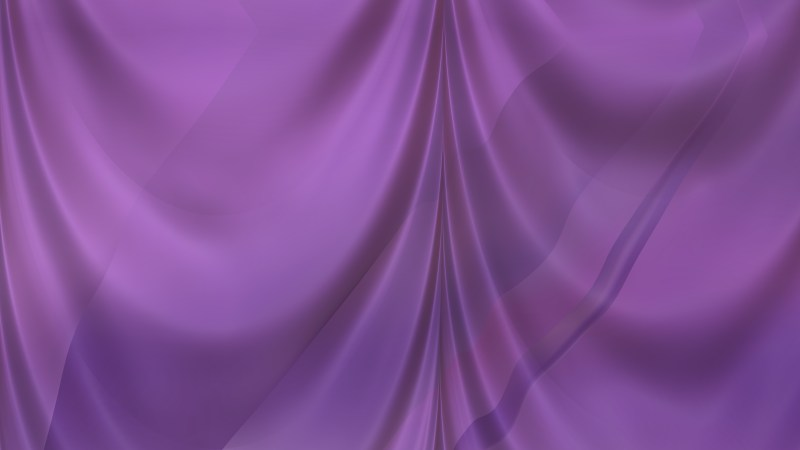Abstract Purple Silk Drapes Background