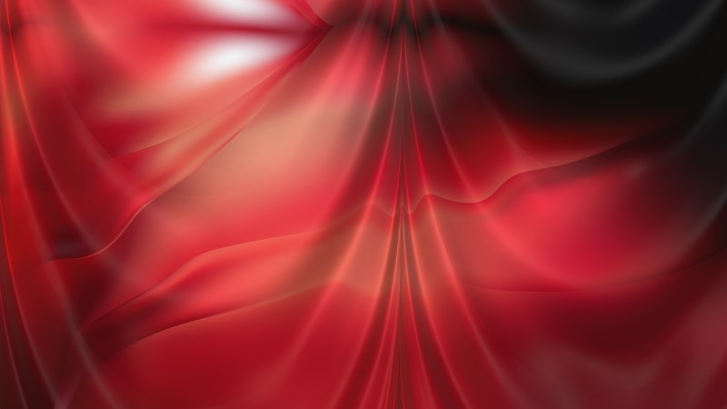 Abstract Red and Black Drapes Texture Background