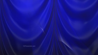 Abstract Royal Blue Curtain Background