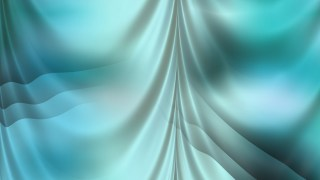 Abstract Turquoise Drapery Background