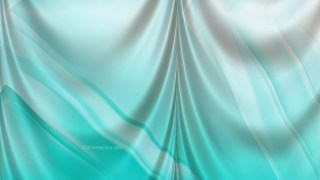Abstract Turquoise Drapery Texture