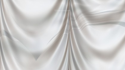 Abstract White Curtain Texture Background