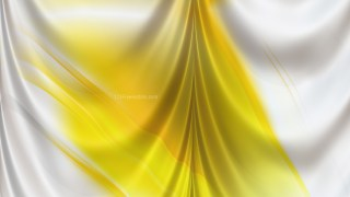 Abstract Yellow and White Satin Curtain Background Texture