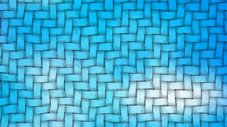 Blue Wicker Basket Background