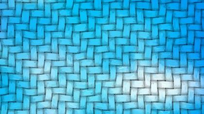 Blue Wicker Basket Background