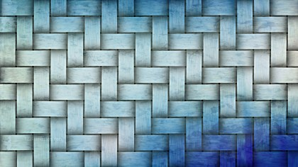 Blue and White Bamboo Background