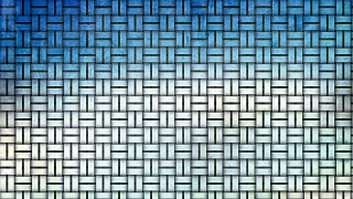 Blue and White Bamboo Weave Background Texture