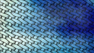 Blue and White Weave Background