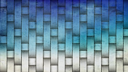 Blue and White Wicker Twill Weave Background Texture