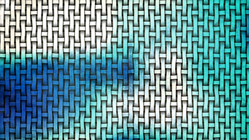 Blue and White Basket Texture