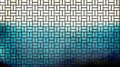 Blue Black and White Woven Basket Texture