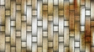 Brown and White Woven Bamboo Background
