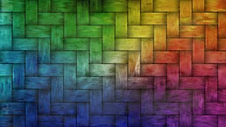 Colorful Basket Weave Texture