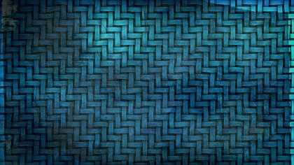 Dark Blue Woven Bamboo Texture