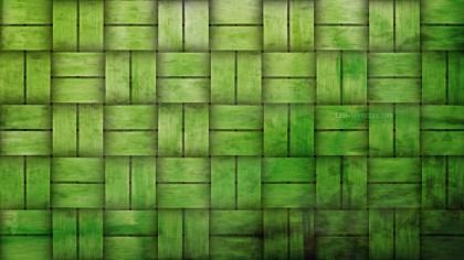 Dark Green Basket Twill Texture