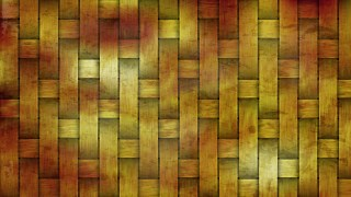 Dark Orange Rattan Background