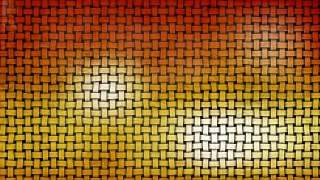 Dark Orange Woven Bamboo Texture Background