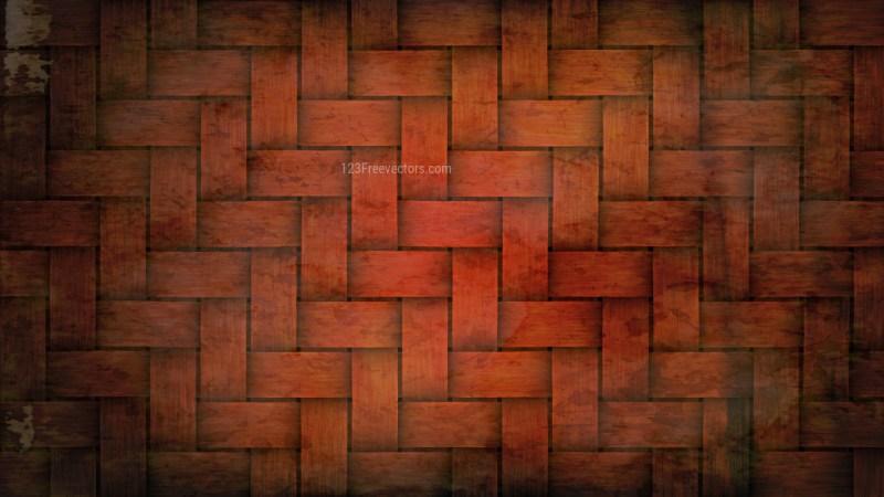 Dark Orange Bamboo Background Image