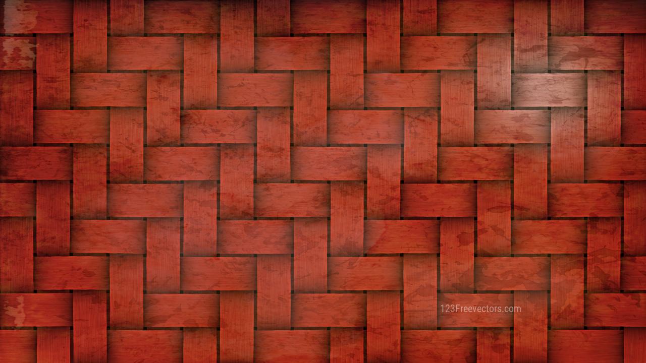 Dark Red Wicker Background