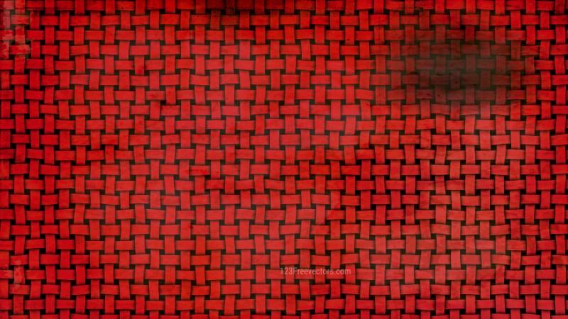 Dark Red Basket Texture