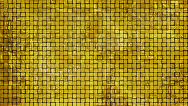 Gold Bamboo Weave Texture