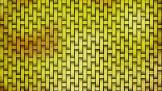 Gold Woven Bamboo Background
