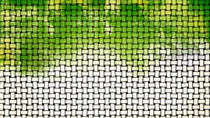 Green and White Bamboo Weave Background