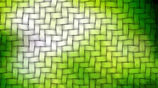 Green and White Weave Background