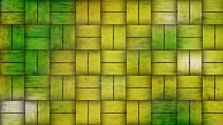 Green and Yellow Basket Twill Texture
