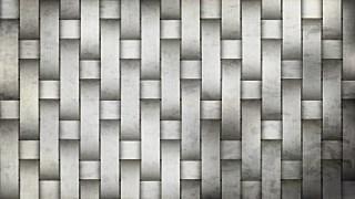 Grey Weave Rattan Texture Background