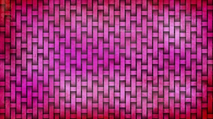 Hot Pink Basket Texture Background