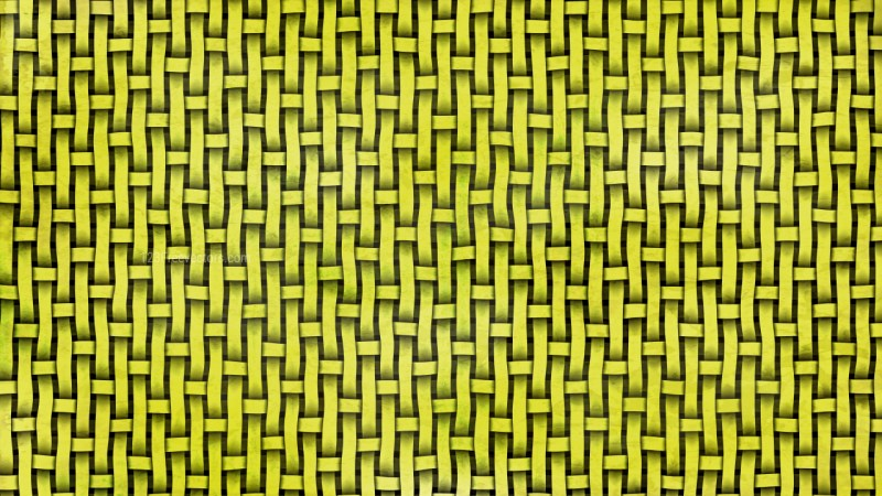 Lime Green Bamboo Weave Background
