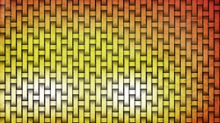 Orange Basket Twill Texture Background