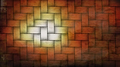 Orange and Black Weave Texture