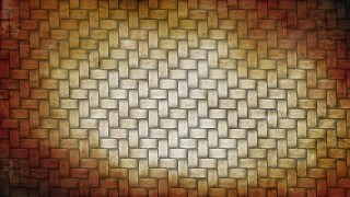 Orange and White Rattan Background