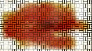 Orange and White Rattan Background