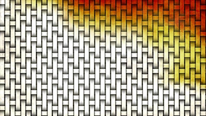 Orange and White Basket Background