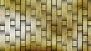 Orange and White Woven Bamboo Texture Background