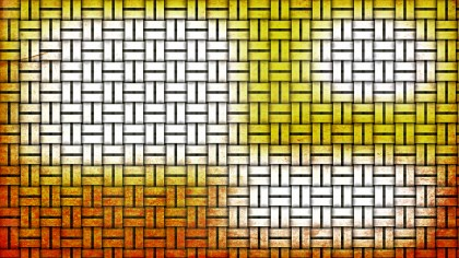 Orange and White Bamboo Background