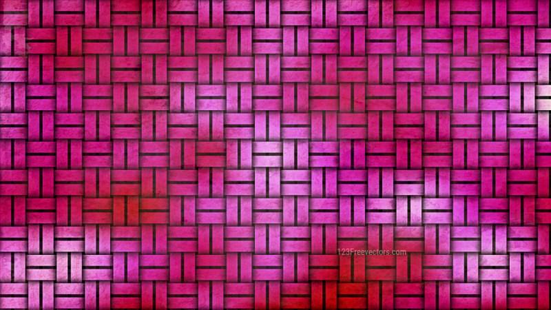 Pink Basket Twill Texture