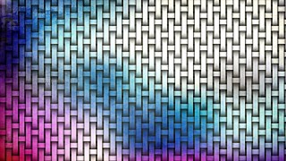 Pink and Blue Wicker Twill Weave Background Texture