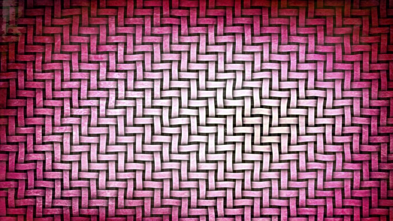Pink and White Basket Background