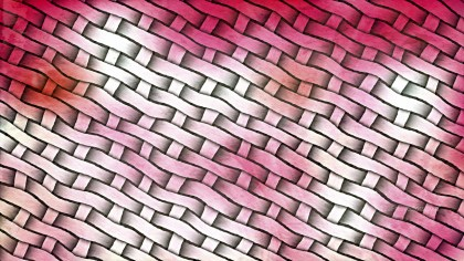 Pink and White Basket Twill Texture