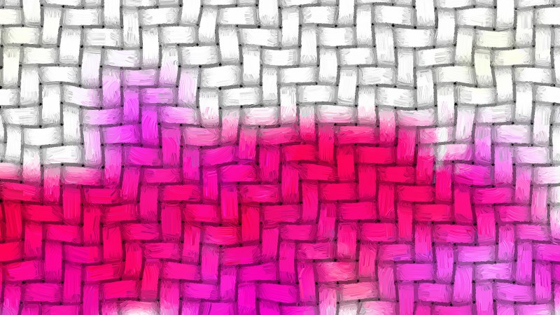 Pink and White Basket Twill Texture Background