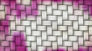 Pink and White Woven Basket Twill background