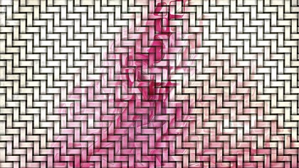 Pink and White Weave Texture