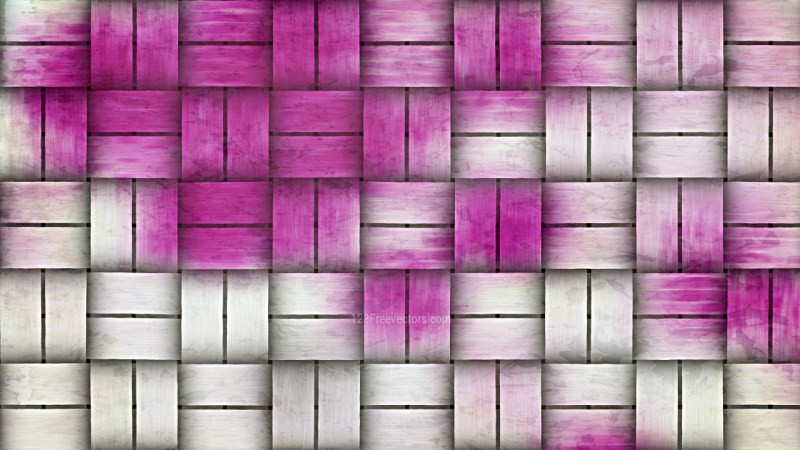 Purple and White Woven Basket Twill Texture