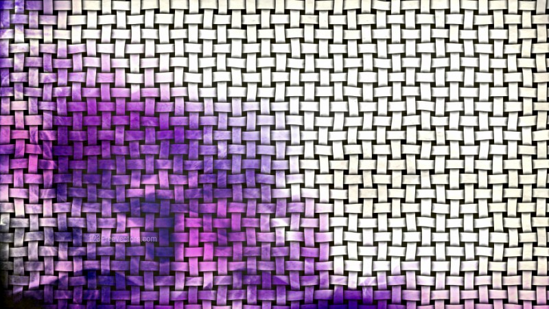Purple and White Rattan Background